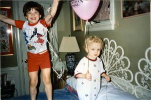 Boys With Balloon