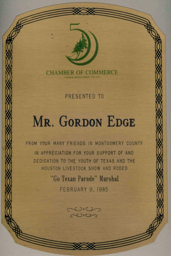 Gordon Edge Parade